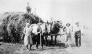 Hs.Nr. 4, Willi und Marianne Obermeier; beim Getreideeinfahren