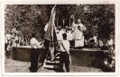 Fahnenweihe Burscheinverein am 7. Juli 1957